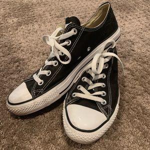 Black Low-Top Converse Sneakers